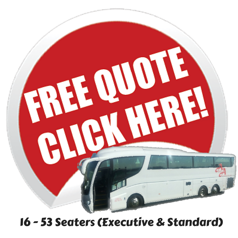 16 - 53 Seaters Available with Driver