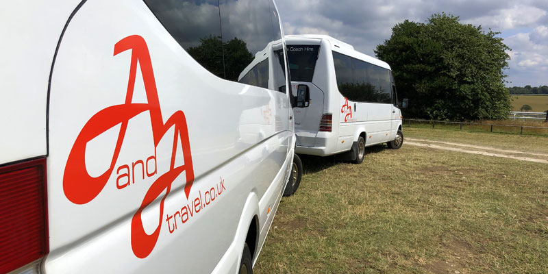 Coach Hire and Minibus Hire in Sussex
