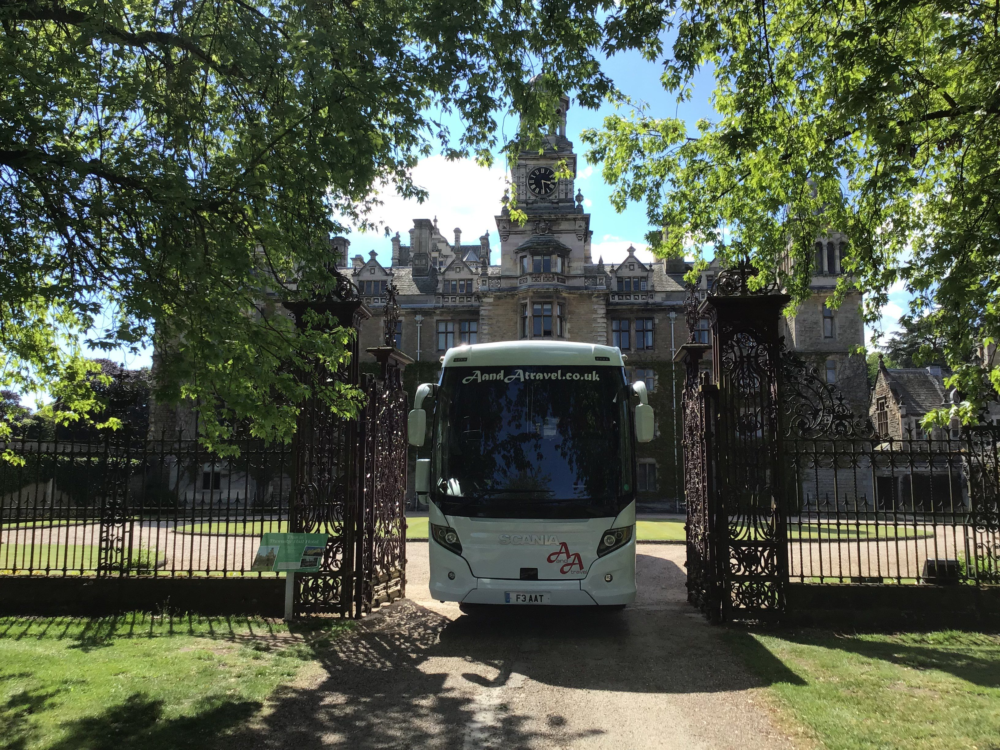 57 Seater Executive Coach Hire