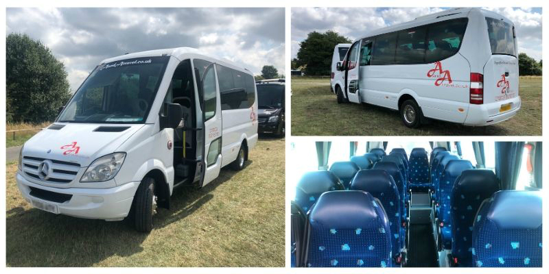 19 Seater Executive Coach Hire Mercedes Sorocco